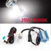 35W 12V 8000K H6 Motorcycle HID Xenon Lamp Headlamp FogLight Conversion Kit