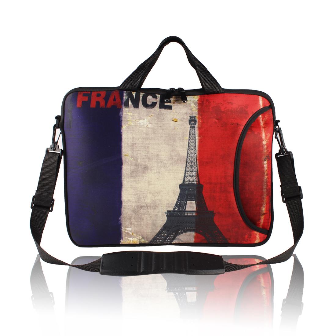 "17.3"" 17.4"" 17"" Neoprene Computer Shoulder Bag Cover Pouch w Carrying Strap"