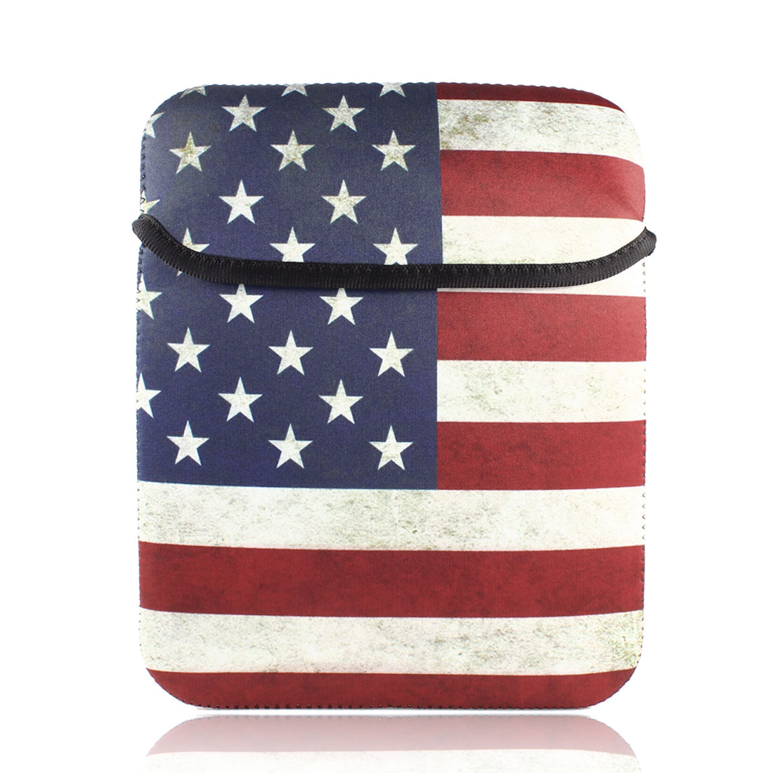 "Retro Style US Flag Sleeve Bag Pouch Case Cover for 9"" 9.7"" 10"" Tablet PC Laptop"