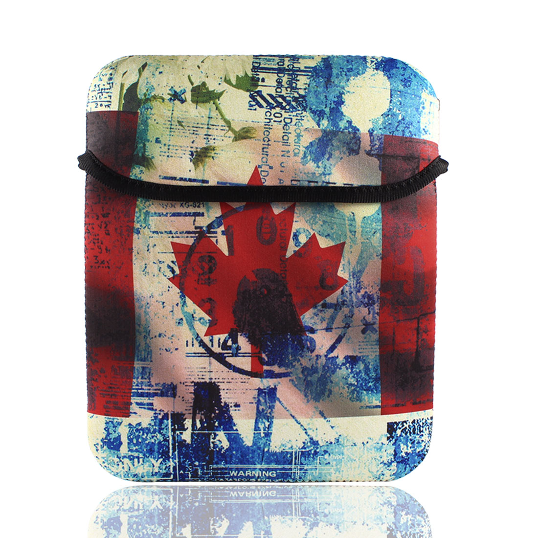 "Protable Canadian Flag Sleeve Bag Pouch Case Cover for 10"" Tablet PC Laptop"