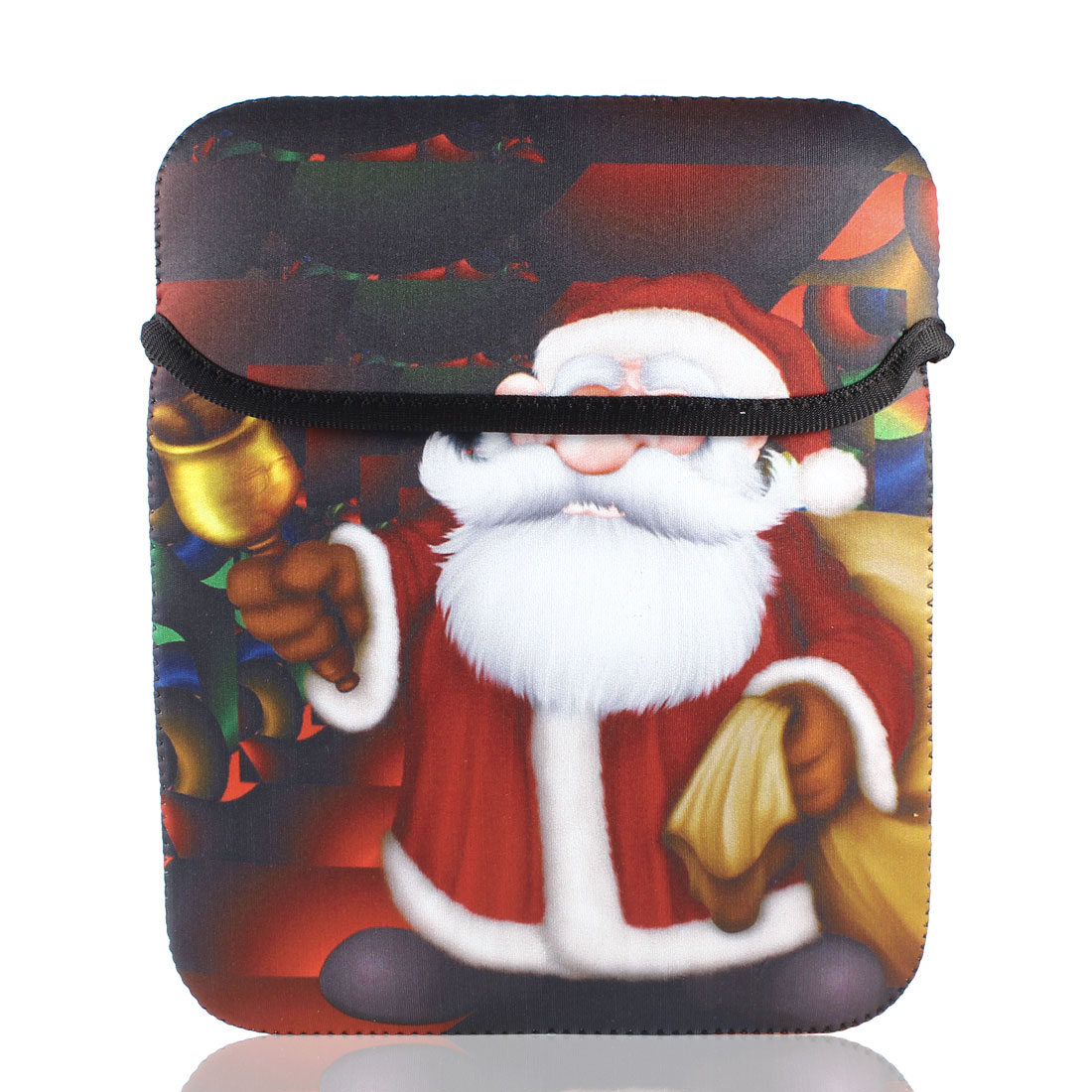 "9"" 9.7"" 10"" Sata Claus Tablet PC Notebook Laptop Sleeve Bag Pouch"