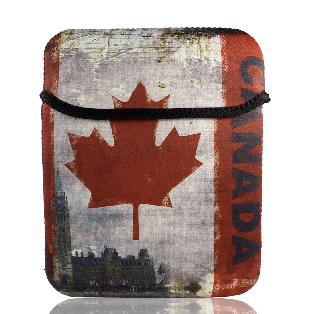 "9"" 9.7"" 10"" Canadian Flag Sleeve Bag Case Cover for Tablet PC Laptop"