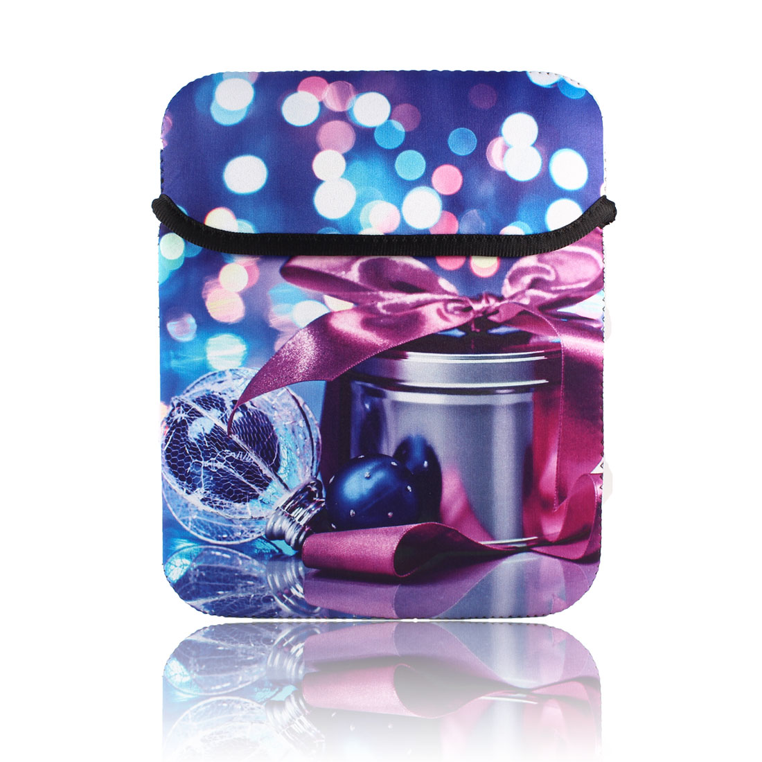 """Chirstmas Gift Box Sleeve Bag Pouch Case Cover for 10"""" Tablet PC Laptop"""