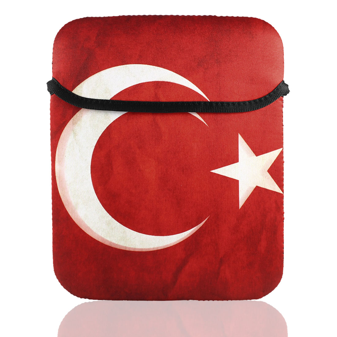 "Retro Style Turkey Flag Sleeve Bag Pouch Case Cover for 9"" 9.7"" 10"" Tablet PC Laptop"