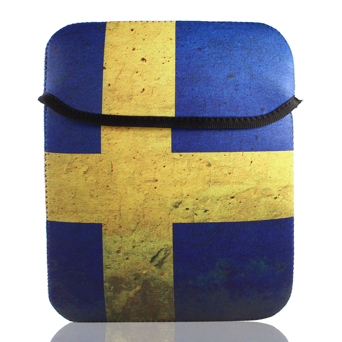 "9"" 9.7"" 10"" Sweden Flag Bag Pouch Sleeve Case Cover for Tablet PC Laptop"