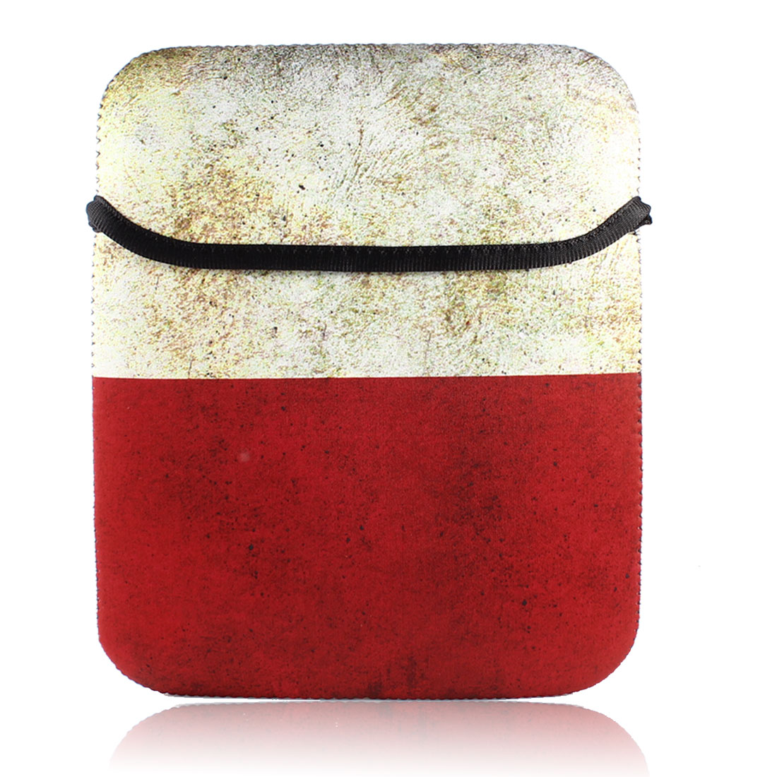 10 Inches Retro Style Flag Printed Netbook Sleeve Bag Pouch Case