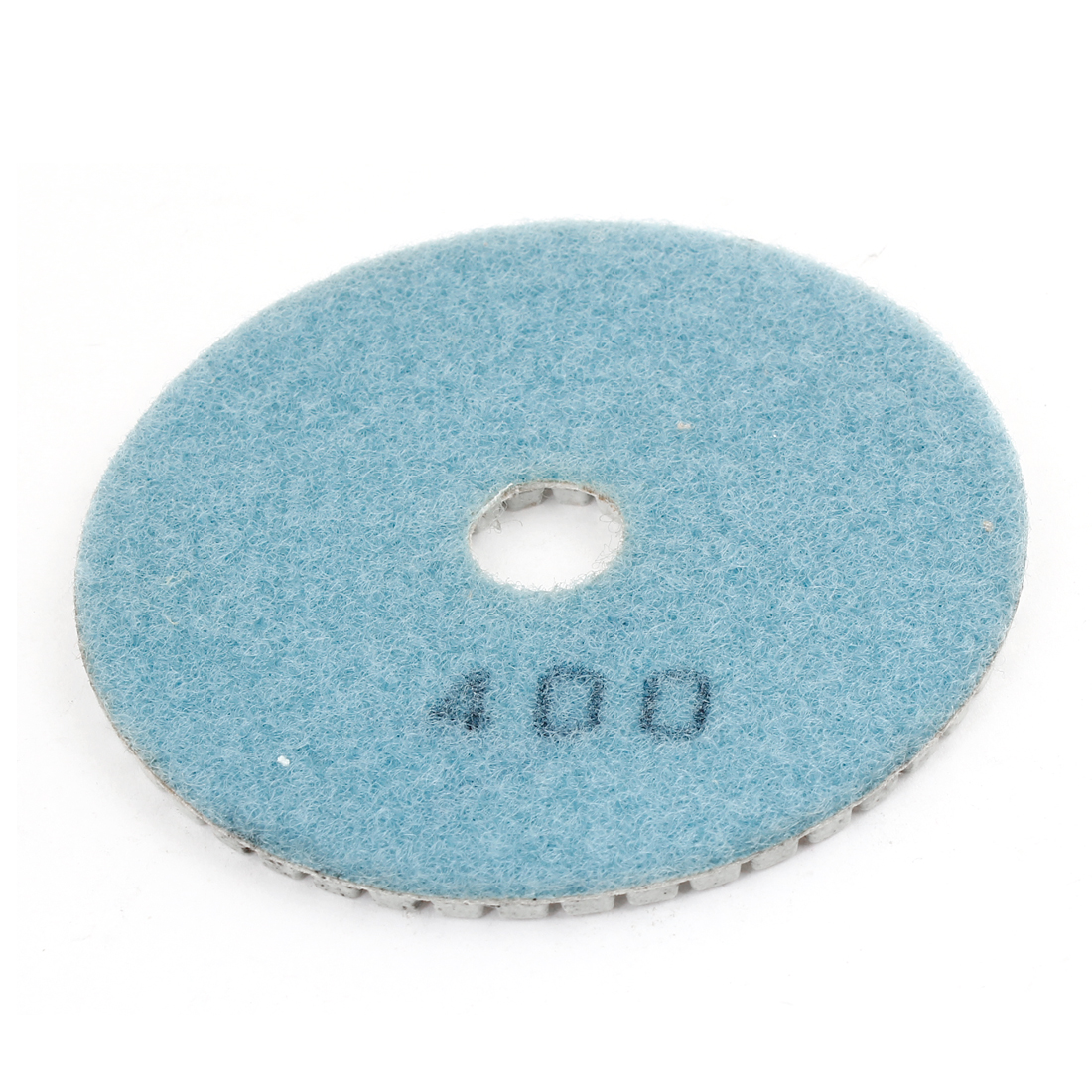 16x100x4mm 400 Grit Teal Blue Gray Tile Polisher Diamond Polishing Pad