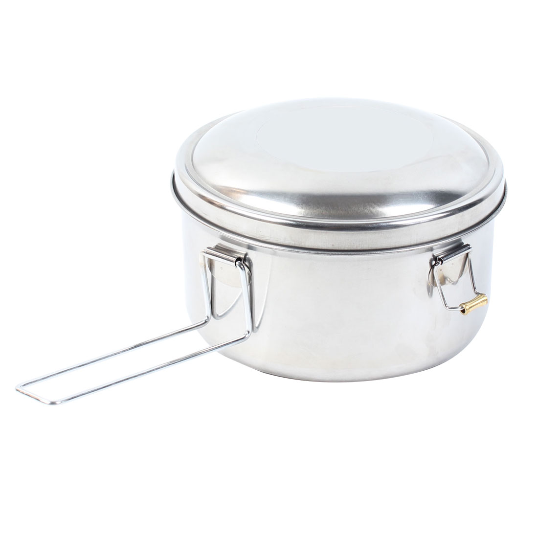 Kitchen Clasp Closures Stainless Steel 16cm Dia Lunch Box