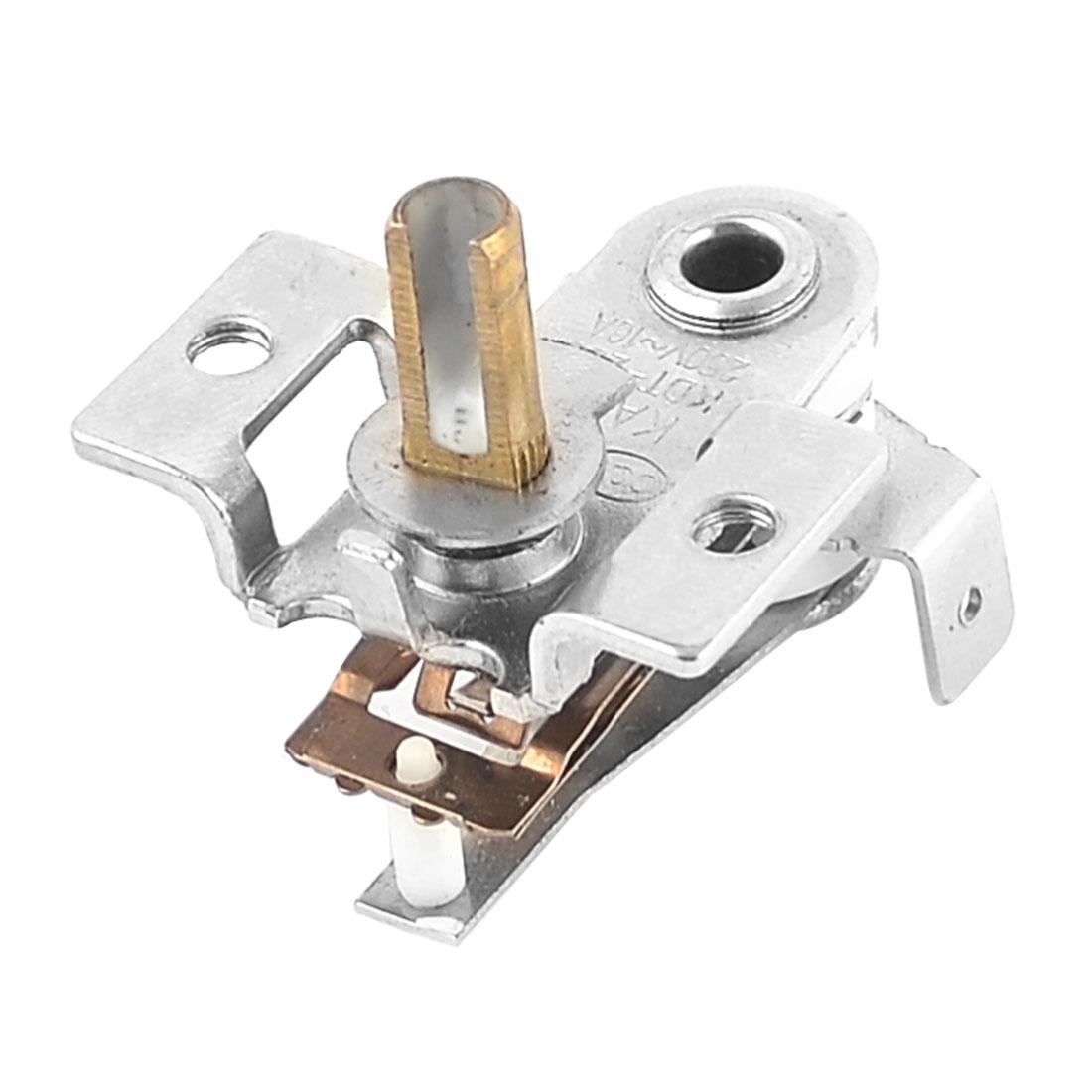 AC250V 16A Bimetallic Discs Adjustable Heating Limiter Hot Thermostat