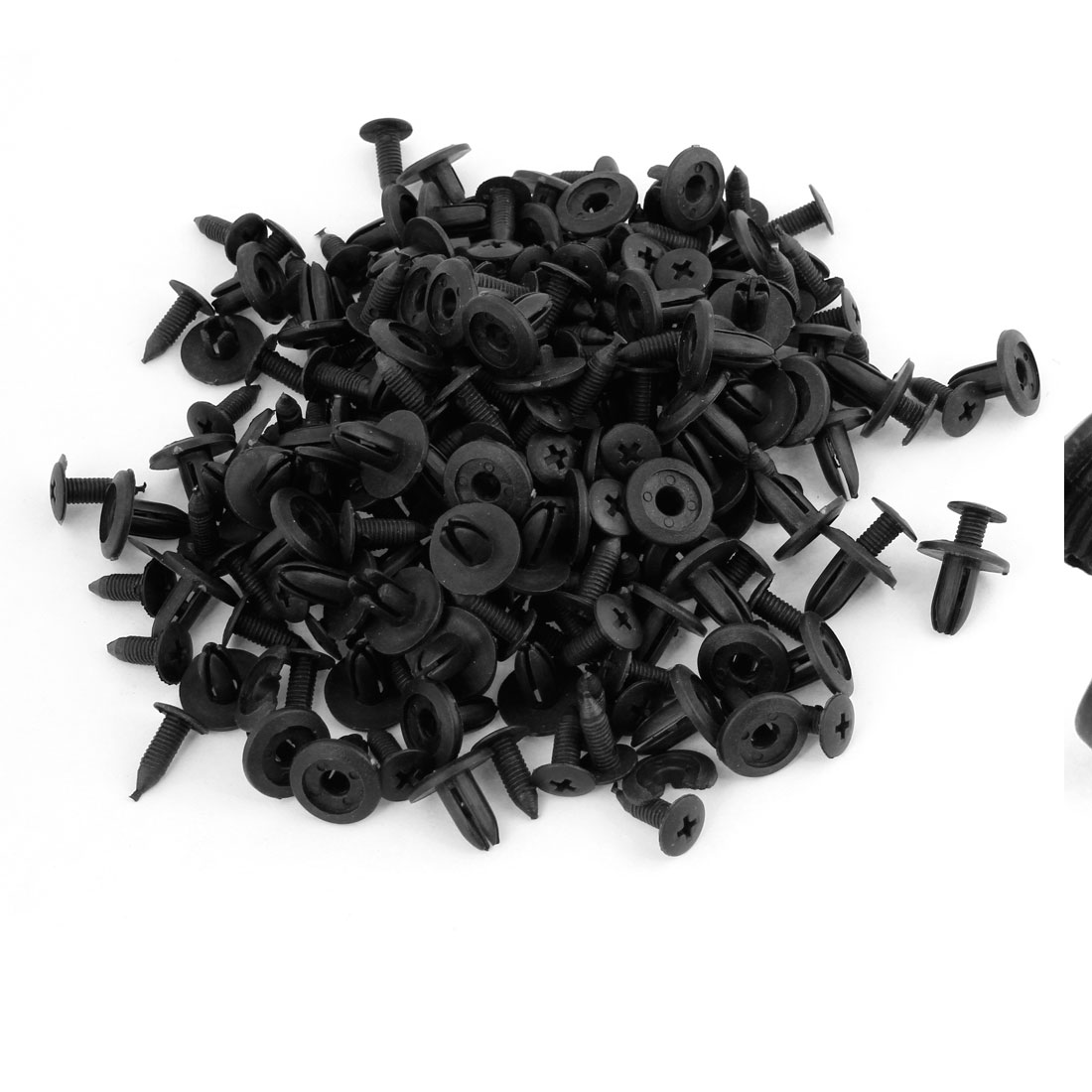 100PCS Plastic Rivets Car Vehicle Door Trim Panel Retainer Clips 20mm Long