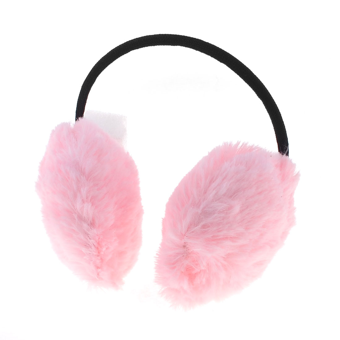 Lady Gift Winter Headband Ear Cover Muffs Earcap Warm Earmuffs Pink