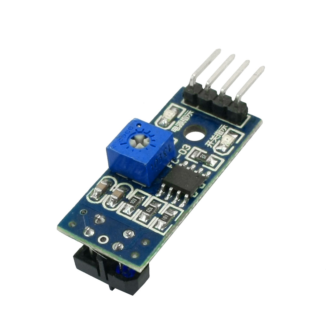 Sensitivity 1-8mm Detection Potentiometer Infrared Track Sensor Module 1CH
