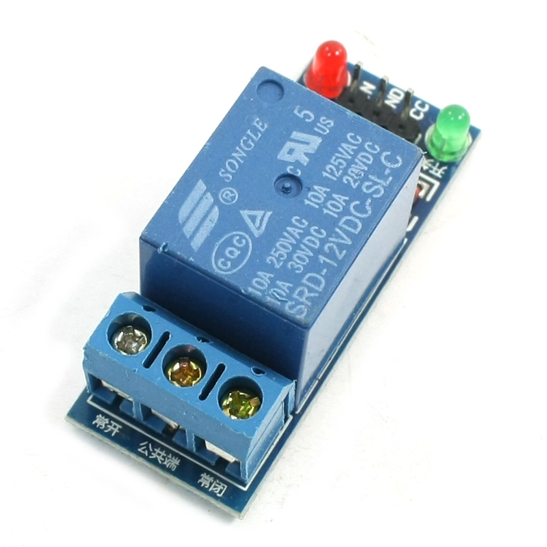 DIY MCU Single Channel High Level Trigger Relay Module PCB Board DC12V