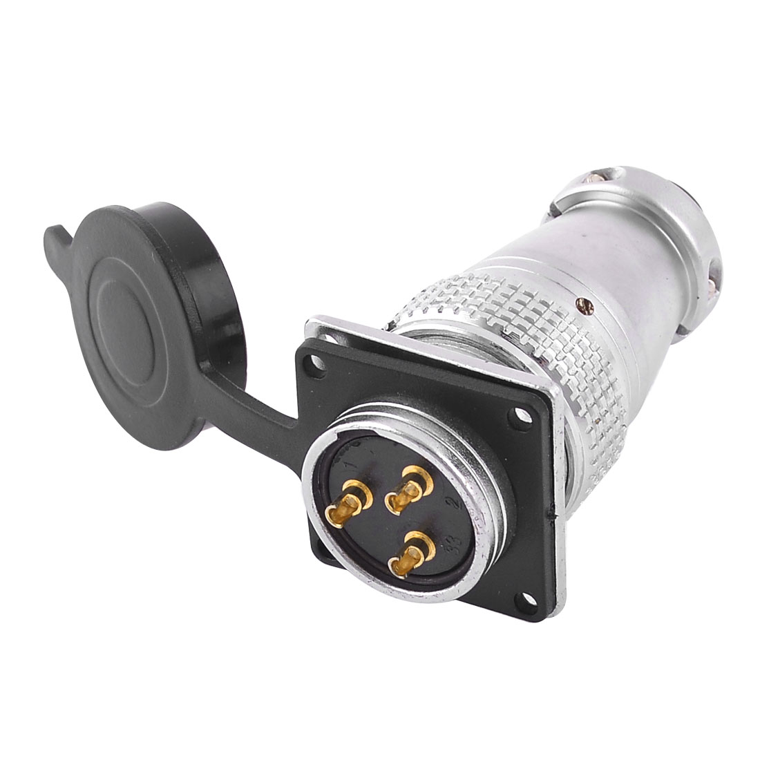 Y28-3 Waterproof 3P Aviation Connector Adapter AC 400V 25A