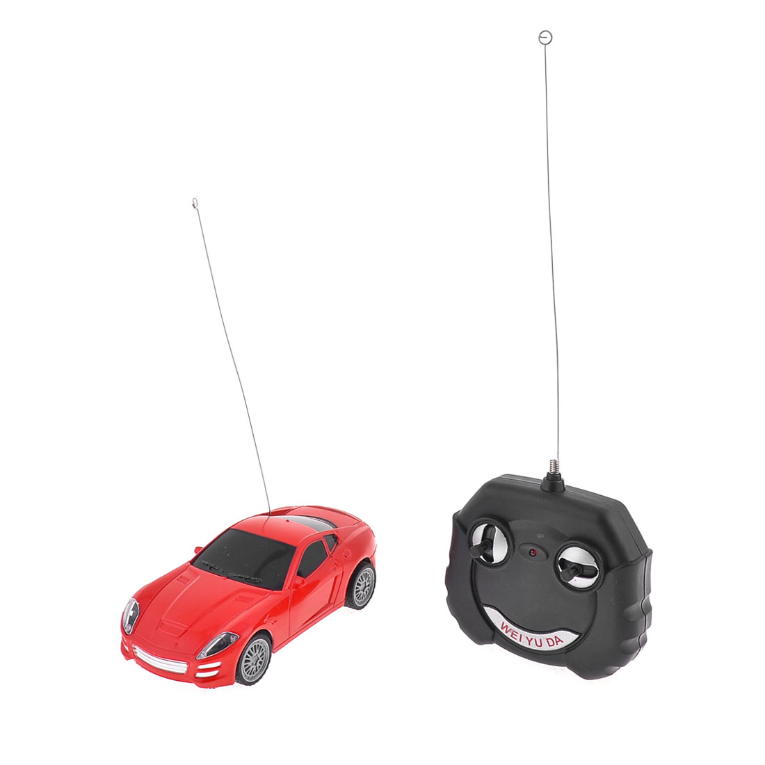 Red Plastic Remote Control Operated Racing Car Toy for Child
