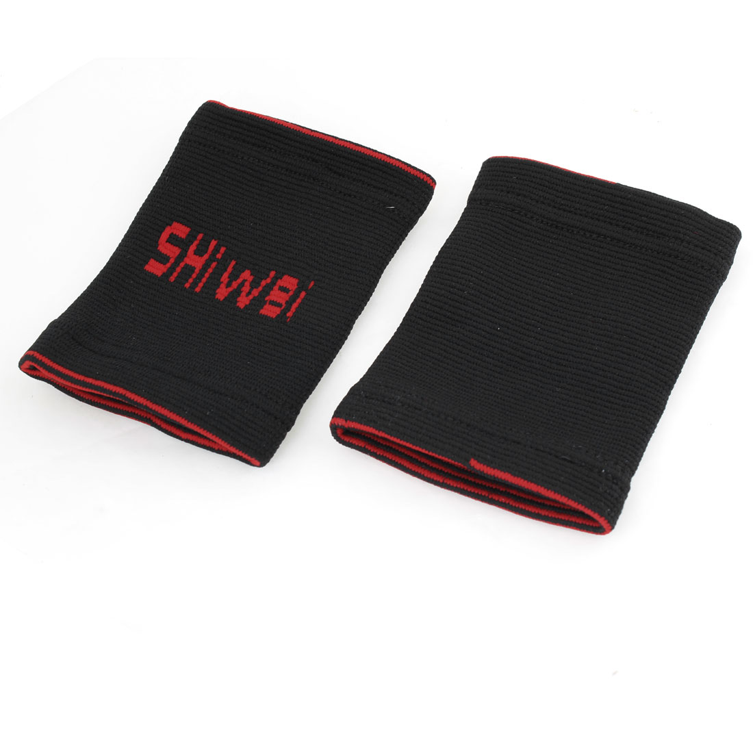 Outdoor Sports Pair Red Black Pullover Design Wrist Support Guard
