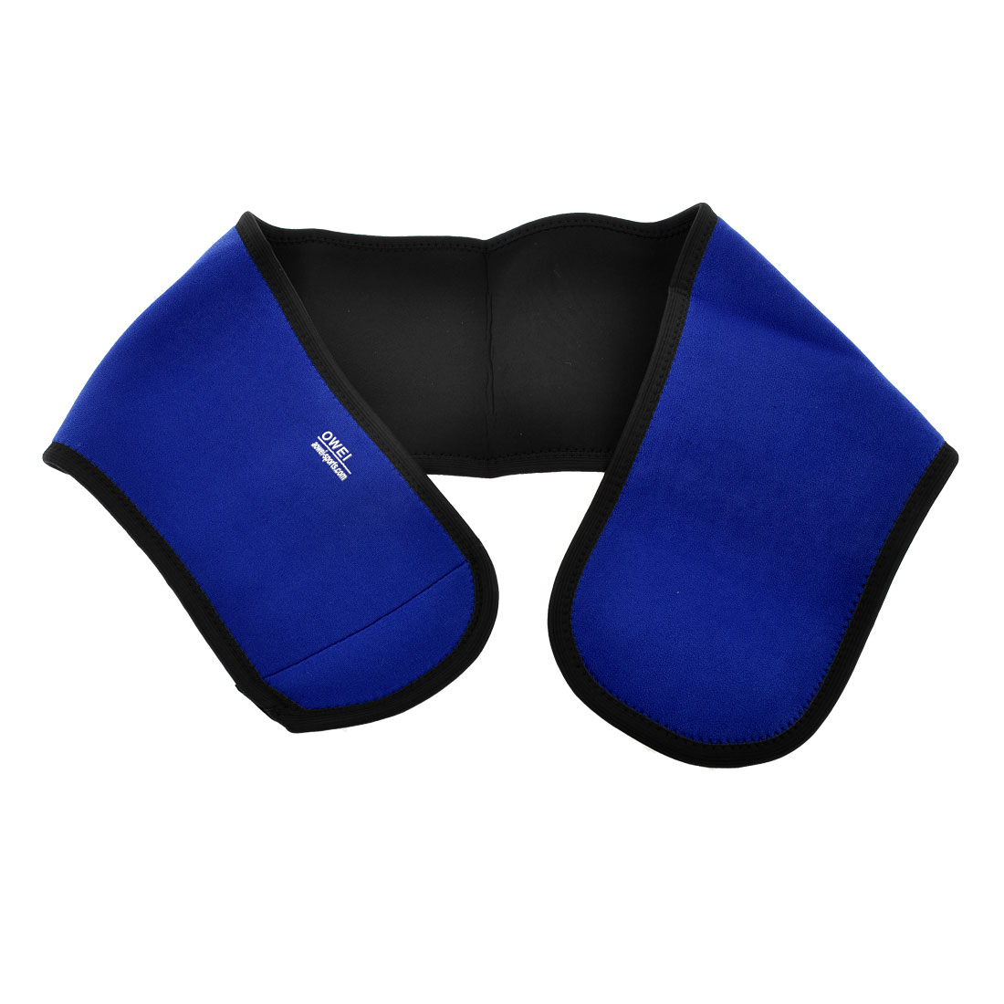 Detachable Blue Neoprene Stretchy Muscle Protect Waist Brace Support