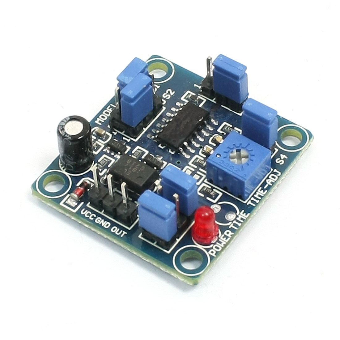 DC 4-12V Time Delay Multifunction Relay Module PCB Board