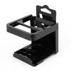 Black Plastic Foldable Car Truck Beverage Drink Cup Bottle Holder Stand