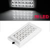 Silver Tone Plastic Casing 18 White LED Car Interior Roof Light Lamp 12V