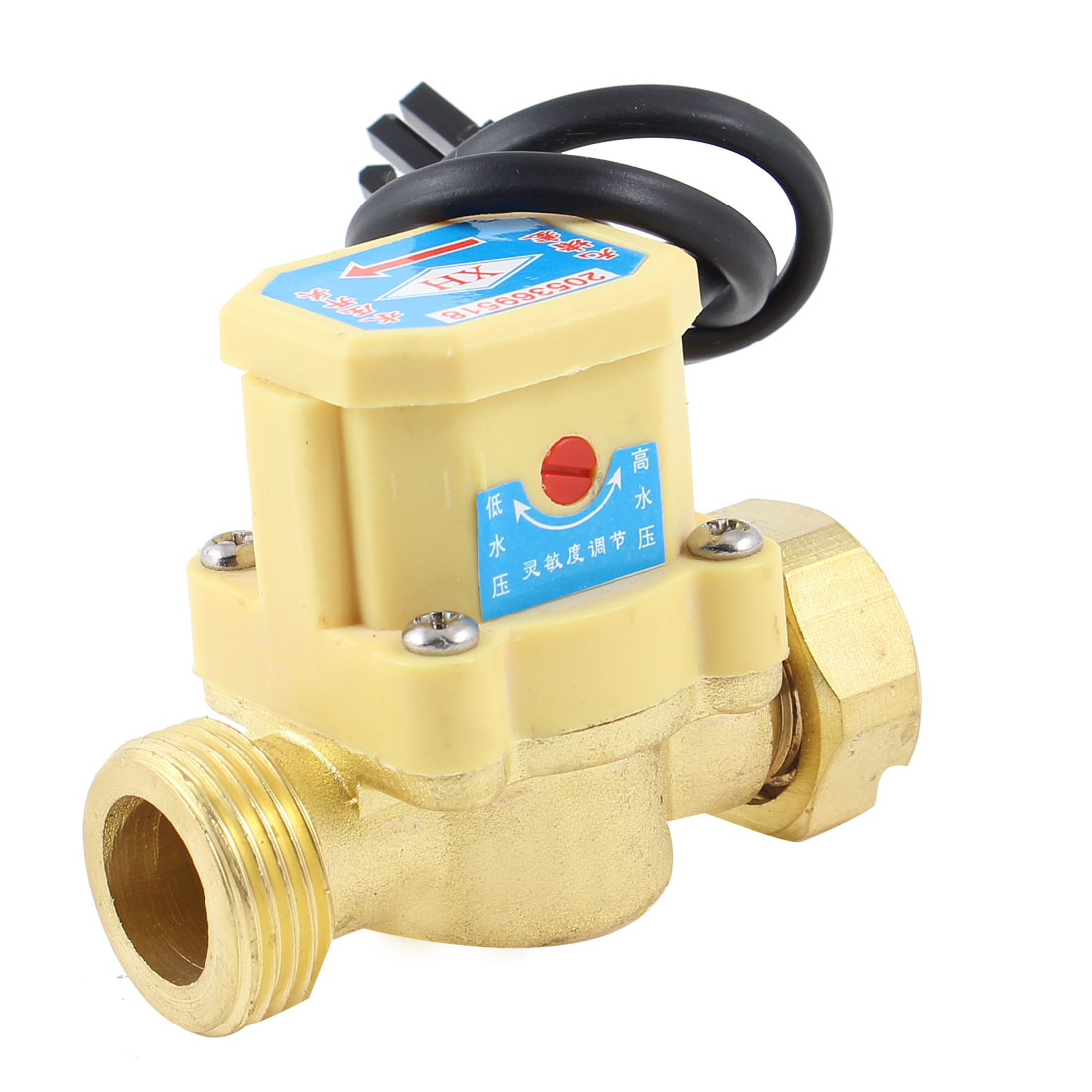 "3/4"" PT Male Thread 120W Pump Flow Sensor Liquid Water Heater Switch"