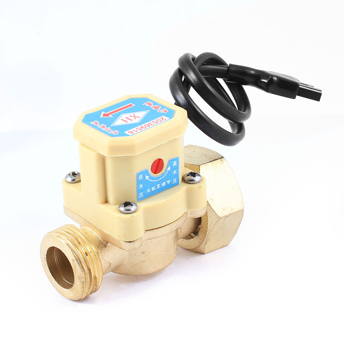 26mm Male Thread 90W Power Circulation Pump Water Heater Flow Sensor Switch