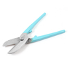 "Baby Blue Handle British Tinsmith Snips Iron Scissors 7.5"" Long"