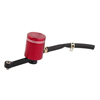 Red Alloy Motorcylce Refitting Front Pump Braking System Brake Oil Cup