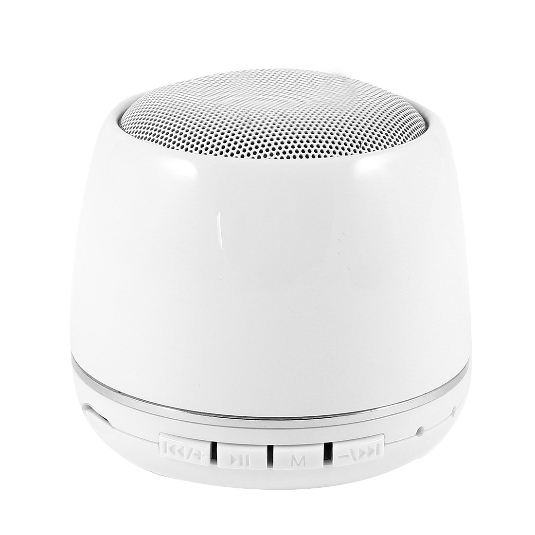 Portable Mini Wireless bluetooth Speaker TF FM Sound Box White for Cellphone MP3