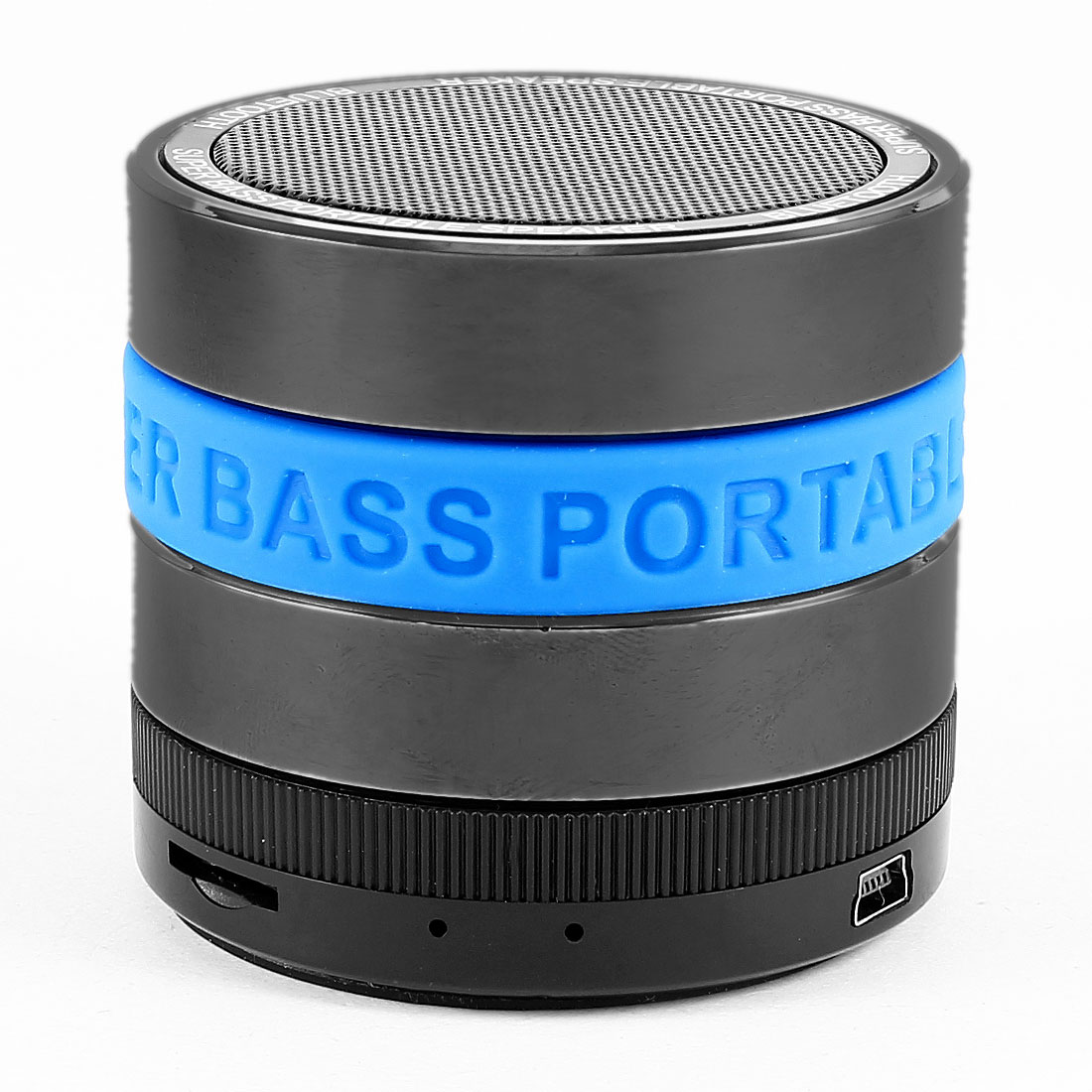 Portable Super Bass bluetooth Mini Speaker TF FM Black Sky Blue for Phone MP3