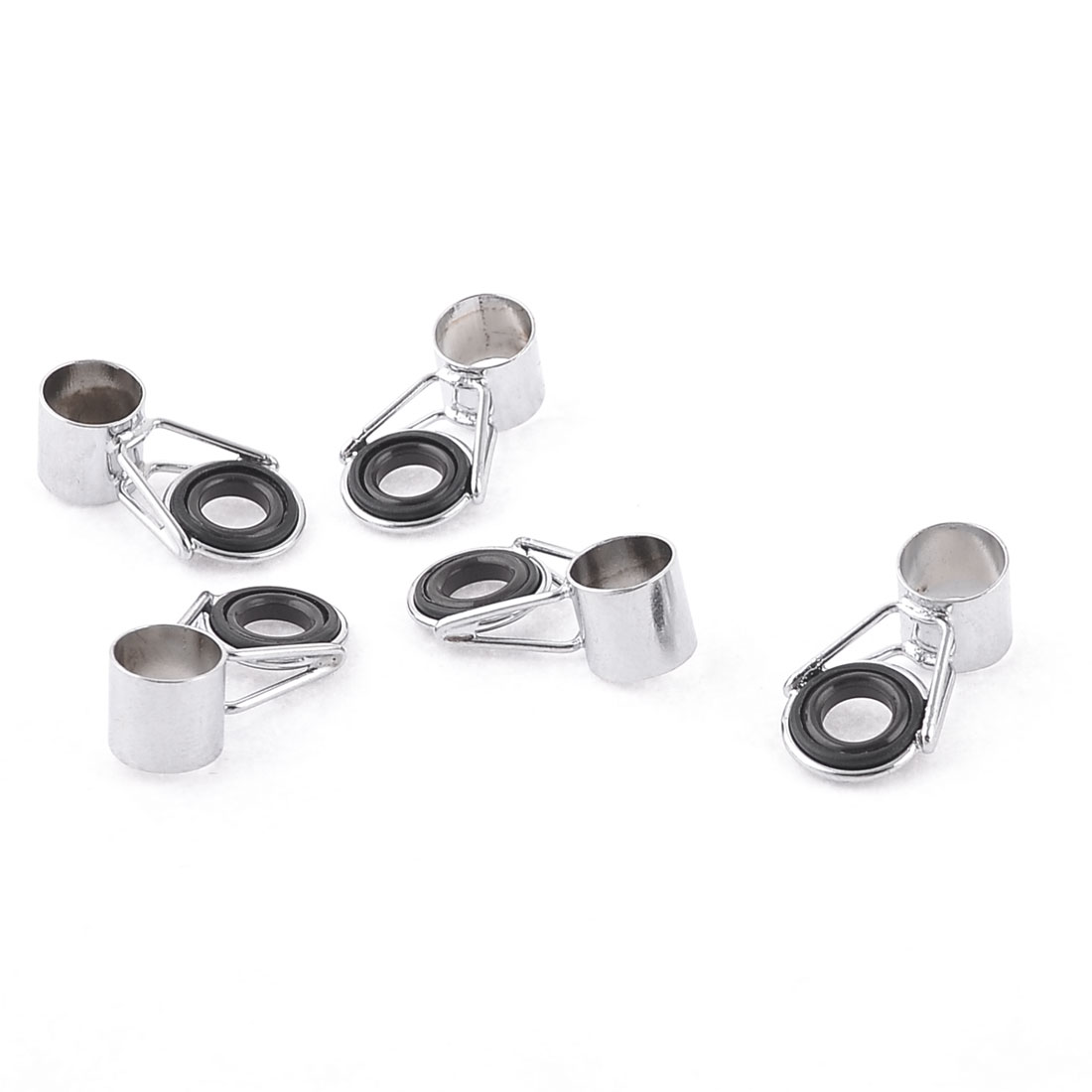 5 PCS 9.5mm Connector Inside Dia Fishing Rod Ring Eye Guide Tip
