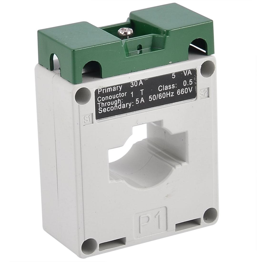 0.66KV 5VA 50/60Hz 30/5 Ratio CT Current Transformer BH-0.66CT