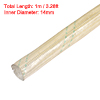 14mm Dia Electrical Wire Fiberglass Insulating Sleeving 1M