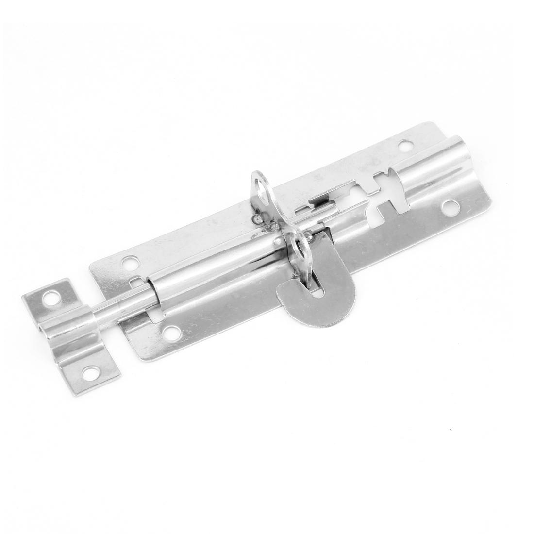 Stainless Steel Door Lock Latch Slide Barrel Bolt Clasp Set 11cm Long