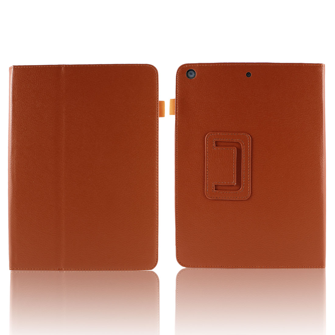 Orange PU Leather Wake up Sleep Flip Case Smart Cover Stand for iPad Air 5