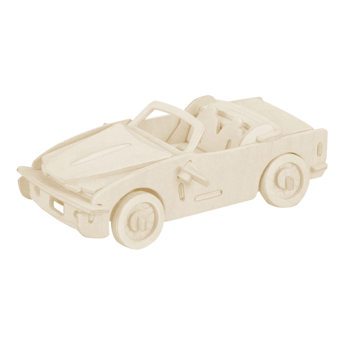 Self Assembly Car Woodcraft Educational Puzzle Model Toy