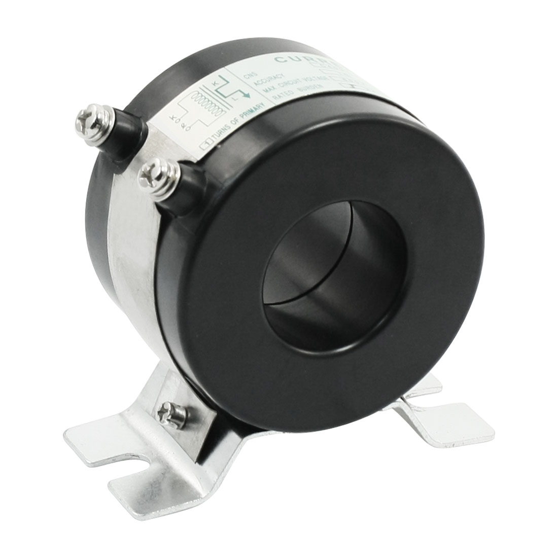 0.01 Class 1T 50/5 Ratio CT Current Transformer RCT-35 Black