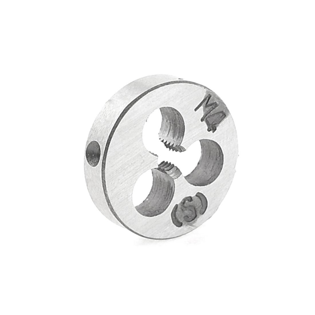 20mm Outer Dia M4 4mm Diameter Round Thread Die Hand Tool Part