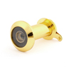 House Security 200 Degree Viewing Angle Door Viewer Peephole Metal Gold Tone