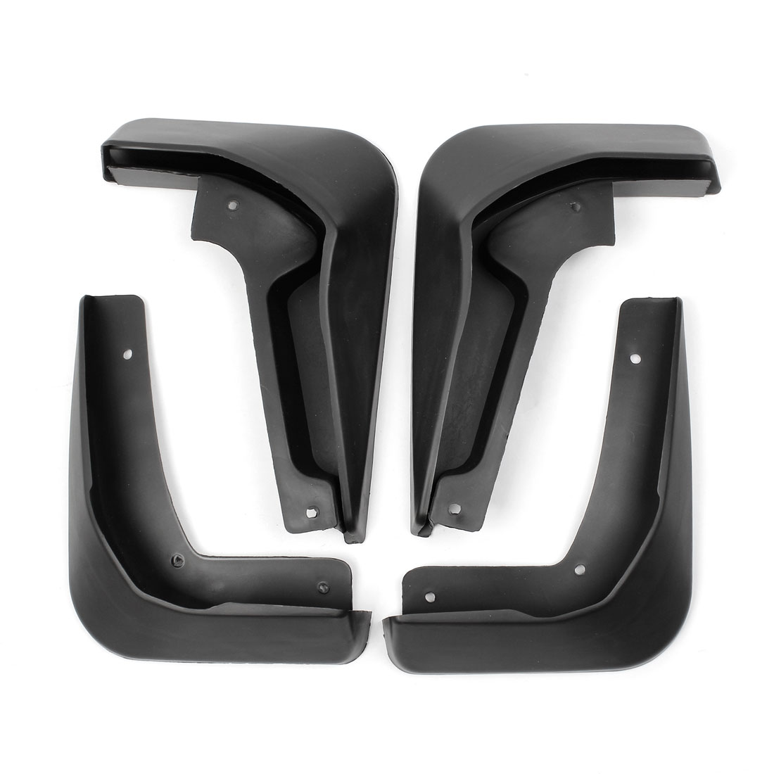 Black Mud Flaps Splash Guard Mudguard Front Rear Full Set for 2012 Ford Focus