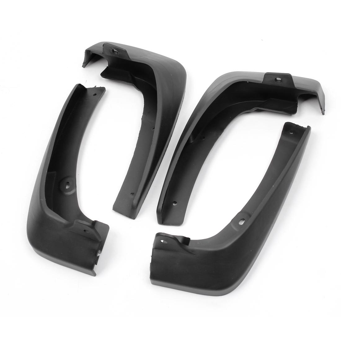 4pcs Auto Shield Splash Guards Mud Flap Front Rear Set for Toyota Vios 2008