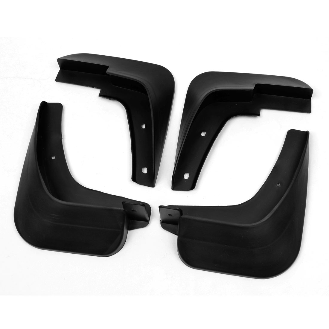 4 in 1 Left Right Splash Guards Plastic Mud Flaps Set for Chevrolet Sail 2010