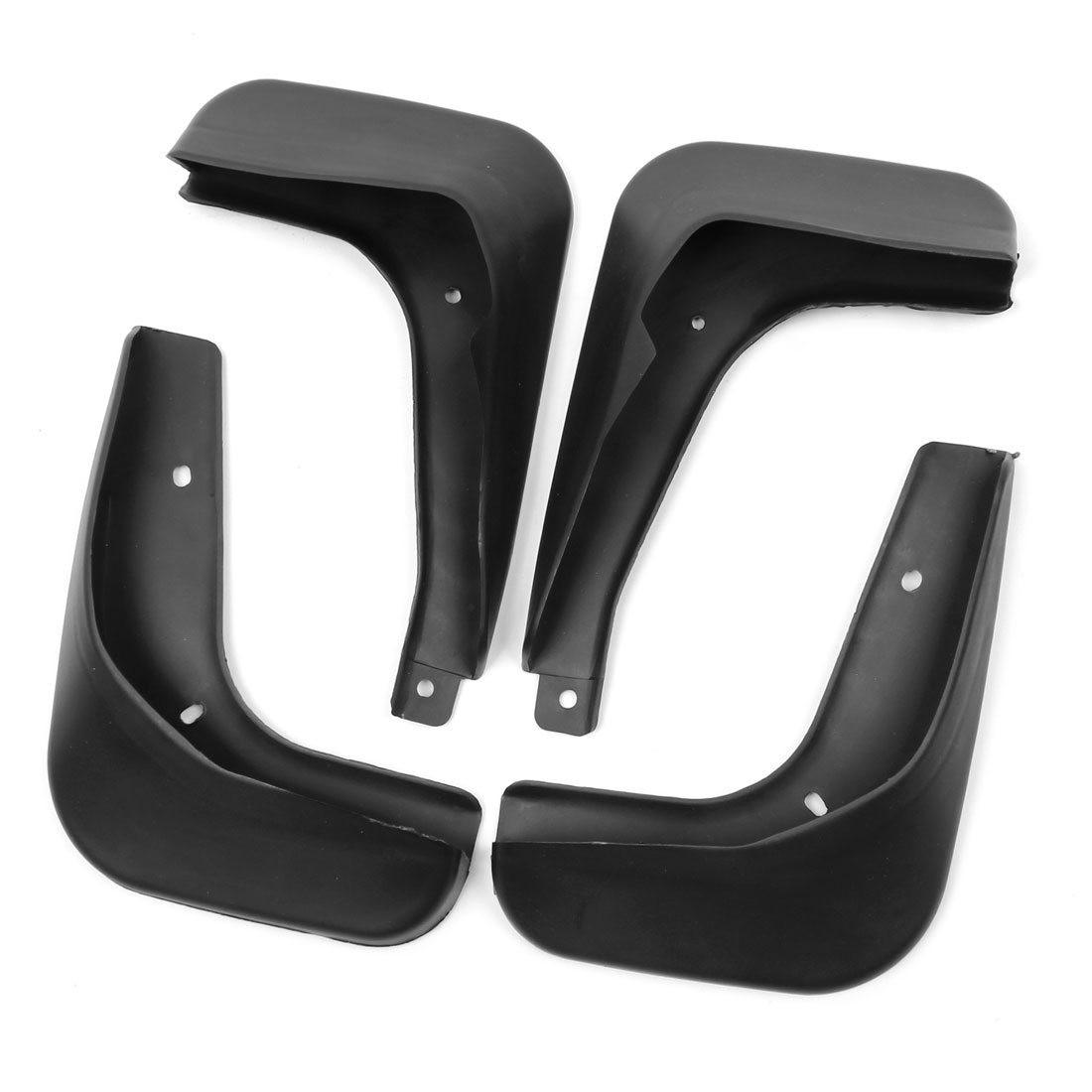 4 in 1 Car Splash Guards Front Rear Mud Flaps Set for Volkswagen Polo 2011