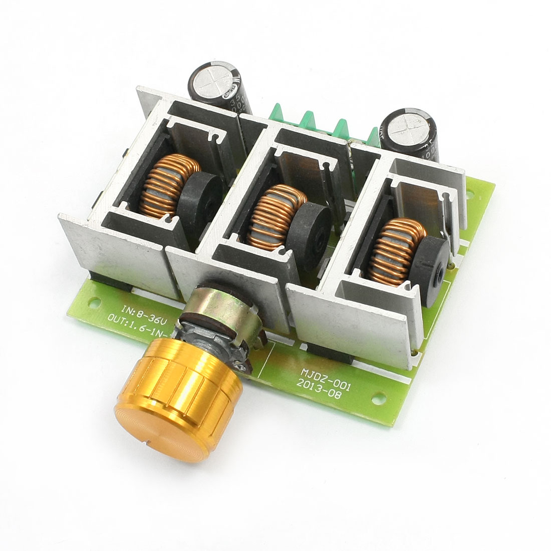 8-40V 10A Knobs Control Adjustable PWM DC Speed Control Switch Governor