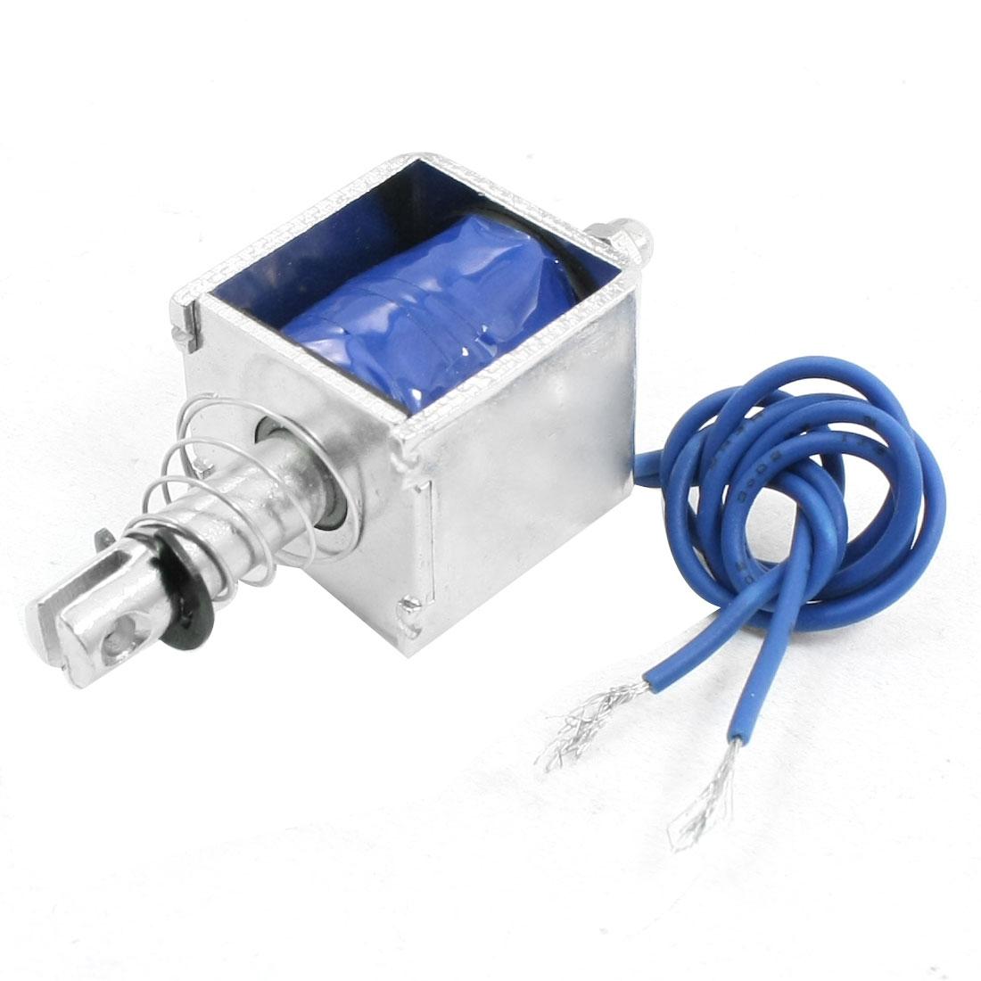Open Frame Push Solenoid Electromagnet DC 12V XRN-0826