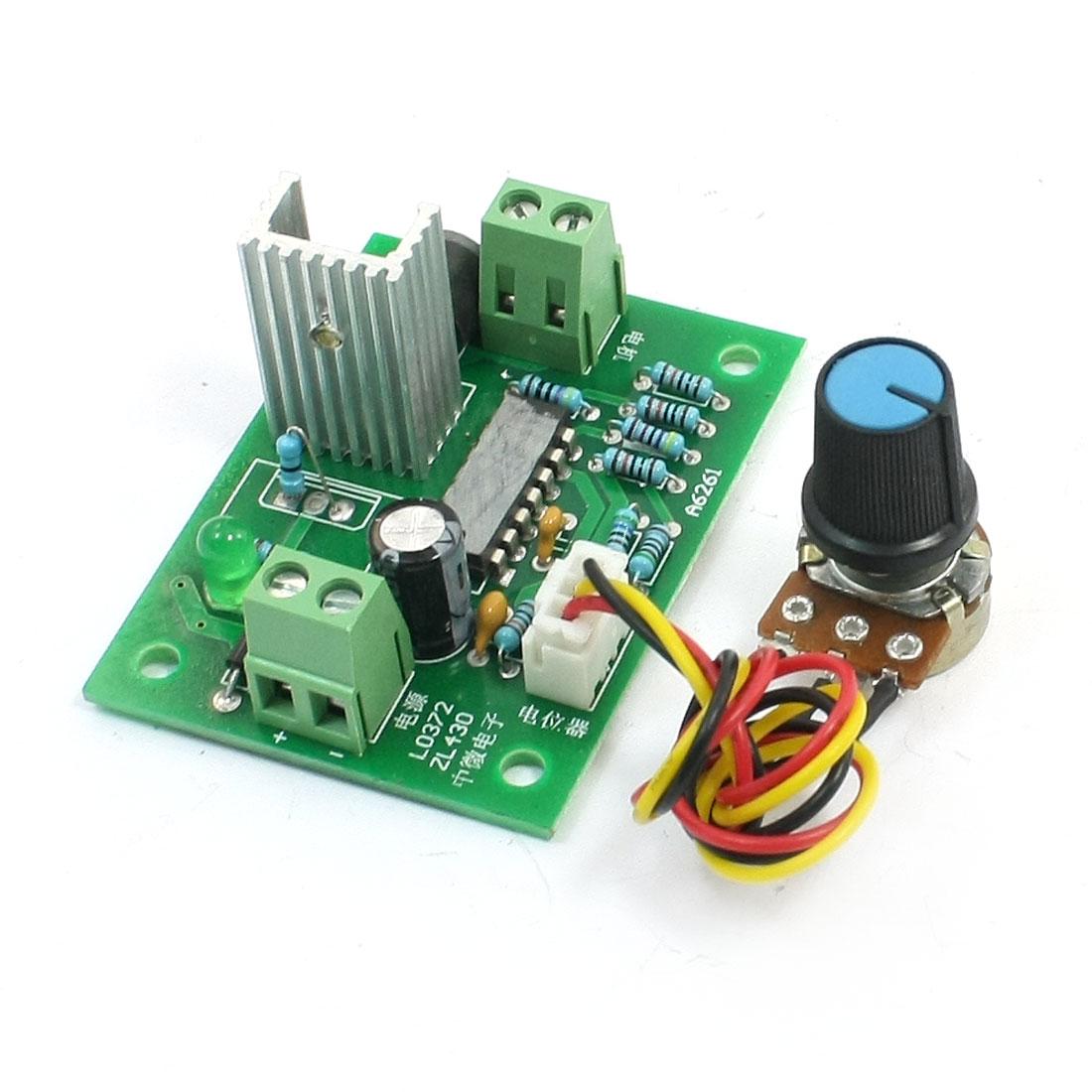 Pulse Width Modulation DC Speed Control Switch 6V 12V 24V 100W