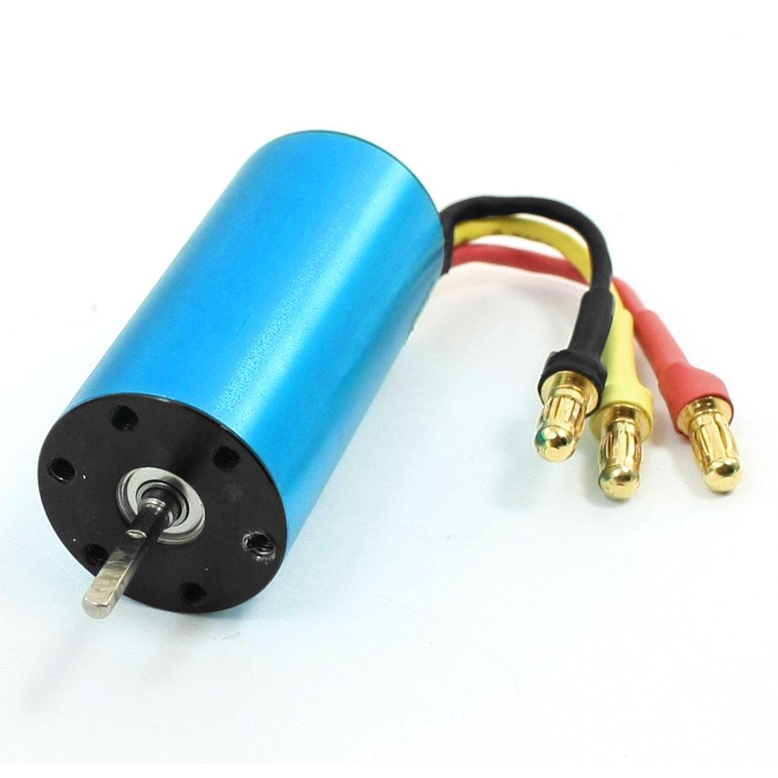 F130-2030 5828KV 2mm Shaft Diameter Inrunner Brushless Motor Blue