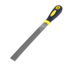 Black Yellow Plastic Grip 20mm Width Coarse Metal Shank Needle File