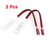 2 Pcs LED Strips RGB 4 Pin Female Connector Splitter Cable 19cm