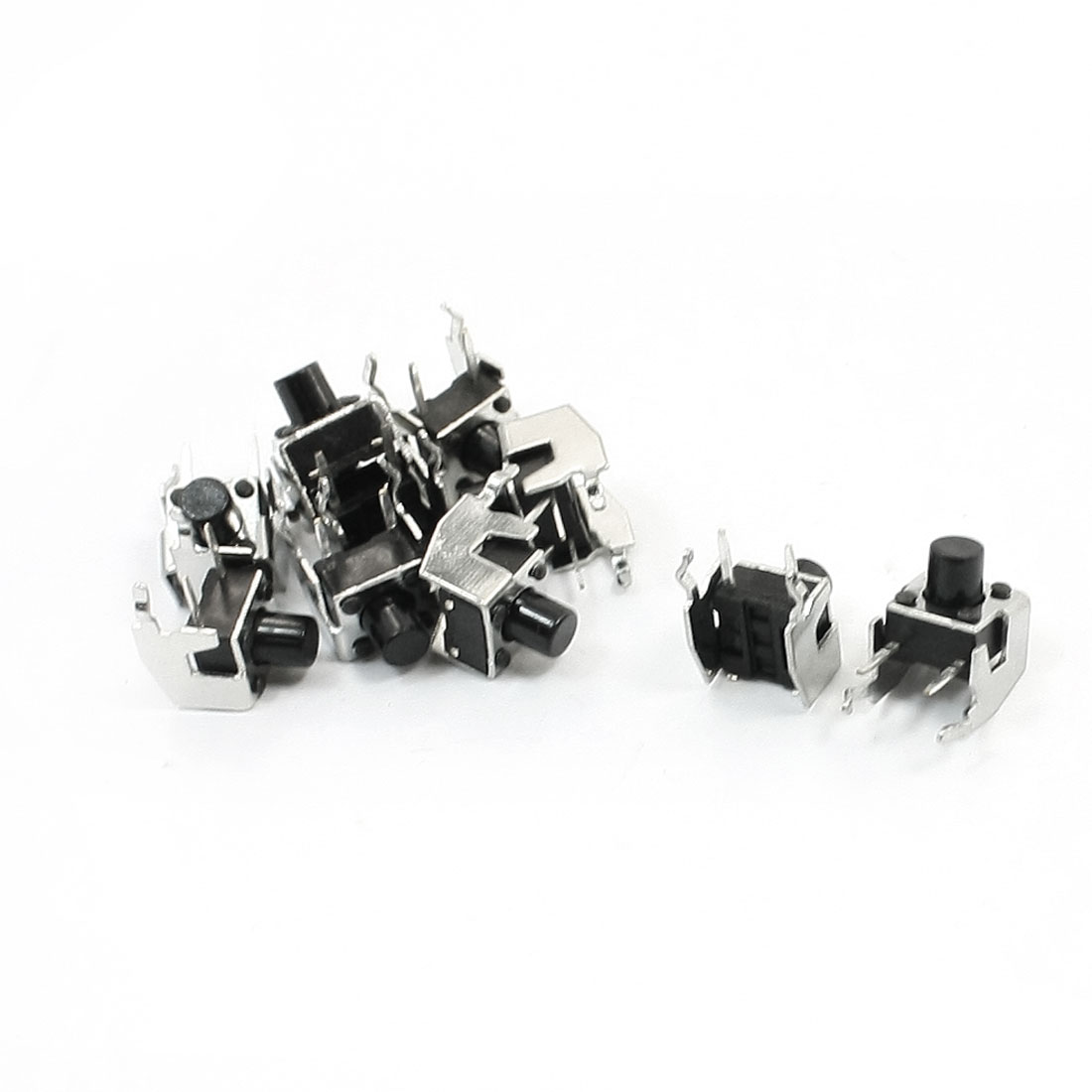 Momentary Type Tactile Push Button Micro Switch 10 Pcs